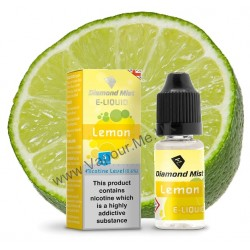 Diamond Mist Lemon E-Liquid 10ml