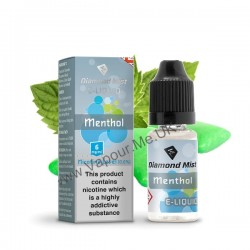 Diamond Mist Menthol E-Liquid 10ml