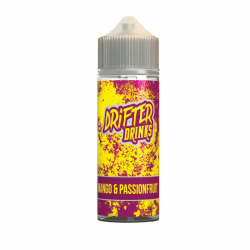 Drifter Drinks Mango & Passionfruit 100ml Shortfill Eliquid