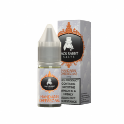 Jack Rabbit Mandarin Cheesecake 10ml Nicotine Salt Eliquid