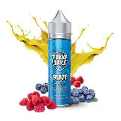 Pukka Juice Blaze No Ice FREE NIC Shot 50ml Shortfill E Liquid