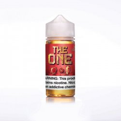 Beard Vape Co The One Apple Cinnamon FREE NIC Shot 100ml Shortfill E Liquid