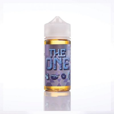 Beard Vape Co The One Blueberry Doughnut FREE NIC Shot 100ml E Liquid