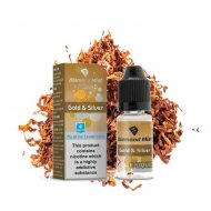 Diamond Mist Gold and Silver Tobacco E Liquid 10ml