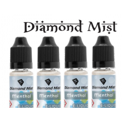 4 x Menthol E Liquid By Diamond Mist E Liquid 40ml