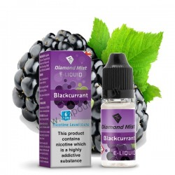 Diamond Mist Blackcurrant E Liquid 10ml