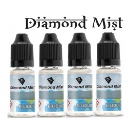 4 x Raspberry E Liquid By Diamond Mist E Liquid 40ml