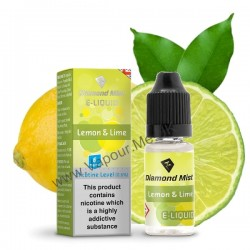 Diamond Mist Lemon and Lime E Liquid 10ml