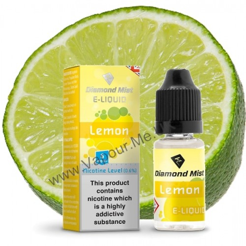 Diamond Mist Lemon E Liquid 10ml | Vapour Me