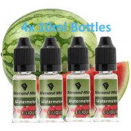 4 x Watermelon E Liquid By Diamond Mist E Liquid 40ml