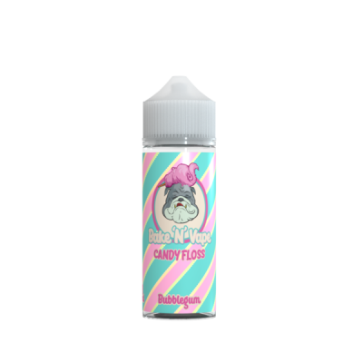 Bake N Vape Bubblegum Candy Floss 100ml Shortfill E Liquid