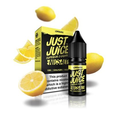 Just Juice Lemonade 10ml Nicotine Salt E Liquid