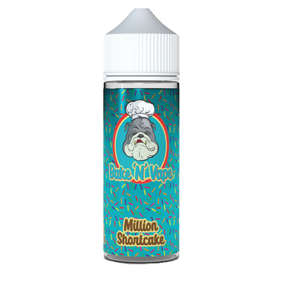 Bake N Vape Million Shortcake 100ml Shortfill E Liquid