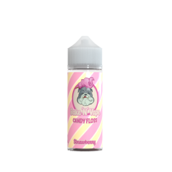 Bake 'N' Vape Strawberry Candy Floss 100ml Shortfill E Liquid