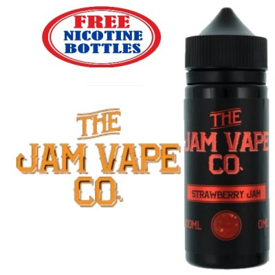 The Jam Vape Co 100ml E Liquid