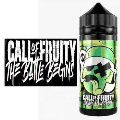 Call of Fruity 100ml Bottles of E Liquid