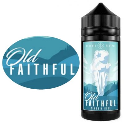 Old Faithful 100ml Bottles of E Liquid
