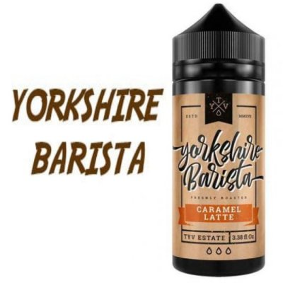 Yorkshire Barista 100ml Bottles of E Liquid