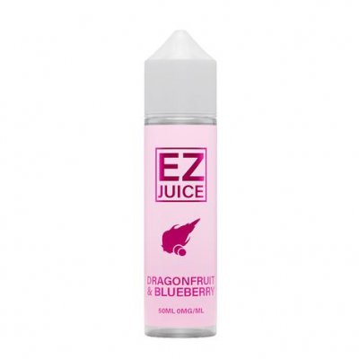 EZ Juice Dragonfruit & Blueberry 0mg 50ml Shortfill Eliquid