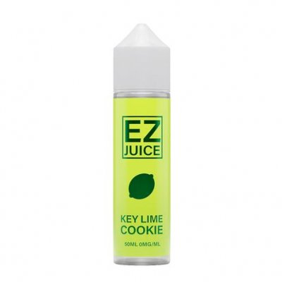EZ Juice Key Lime Cookie 0mg 50ml Shortfill Eliquid