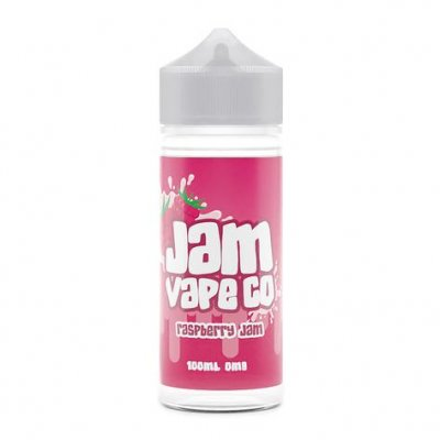 Raspberry Jam 100ml E Liquid by The Jam Vape Co Free Nic Shot
