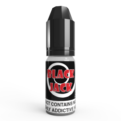 Black Jack E Liquid by V4POUR 10ml