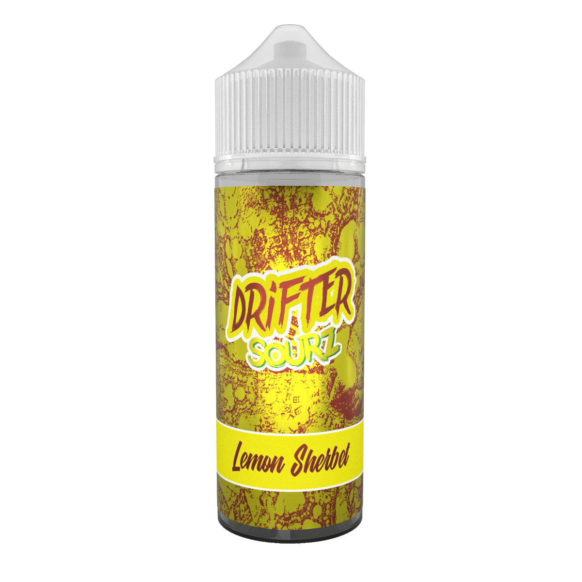 Drifter Lemon Sherbet Sourz FREE Nic Shot E Liquid 100ml