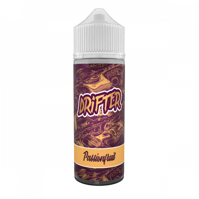 Drifter Passionfruit FREE Nic Shot E Liquid 100ml