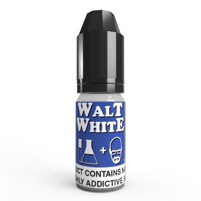 Walt White E Liquid by V4POUR 10ml