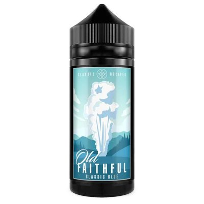 Old Faithful Classic Blue 100ml E Liquid