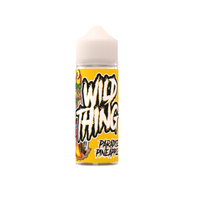 Wild Thing Paradise Pineapple 100ml E Liquid
