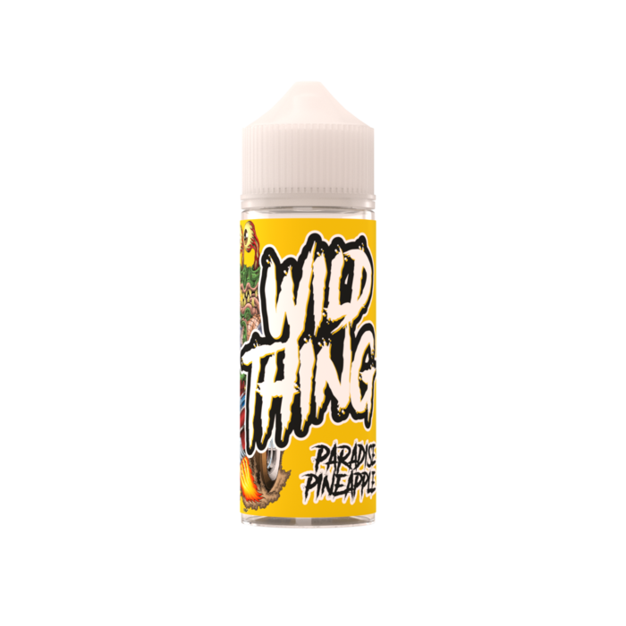 Wild Thing Paradise Pineapple 100ml Shortfill E Liquid