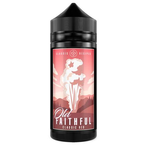 Old Faithful Classic Red 100ml E Liquid | Vapour Me