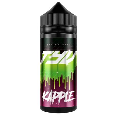 TYV Squared Kapple 100ml Shortfill E Liquid