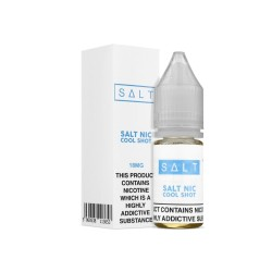 Salt Nic Cool Shots 18mg Salt base nicotine E Liquid 10ml