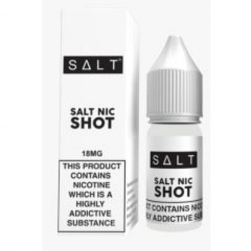 Salt Nic Shot 10ml 18mg Salt base nicotine E Liquid 10ml | Vapour Me