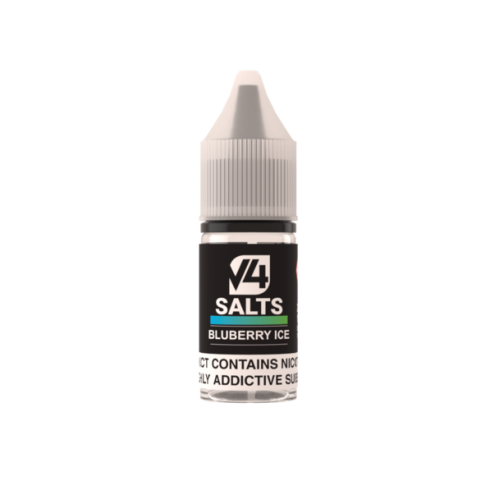 V4POUR Blueberry Ice 10ml Nicotine Salt E Liquid | Vapour Me