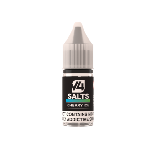 V4POUR Cherry Ice 10ml Nicotine Salt E Liquid | Vapour Me