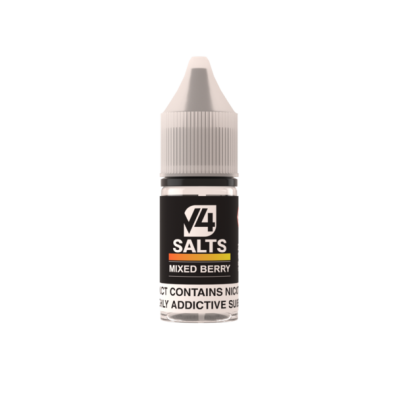 V4POUR Mixed Berry 10ml Nicotine Salt E Liquid
