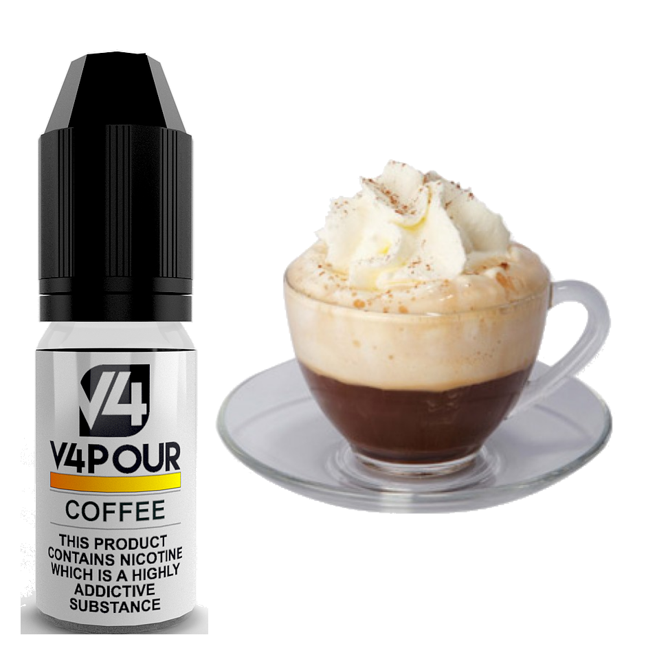Coffee E Liquid by V4 V4POUR 10ml