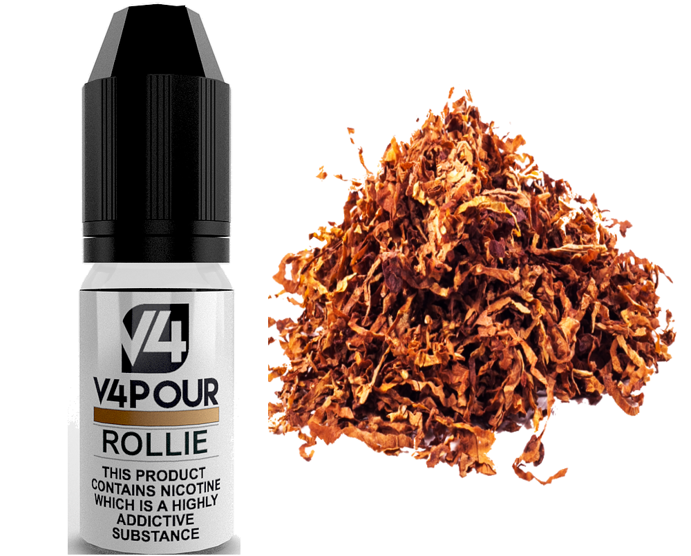 Rollie E Liquid by V4 V4POUR 10ml