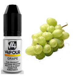 Grape E Liquid by V4 V4POUR 10ml