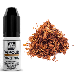 Virginia E-Liquid by V4 V4POUR 10ml
