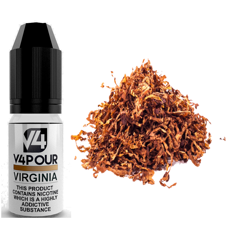 Virginia E Liquid by V4 V4POUR 10ml