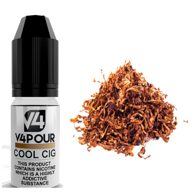 Cool Cig E Liquid by V4 V4POUR 10ml