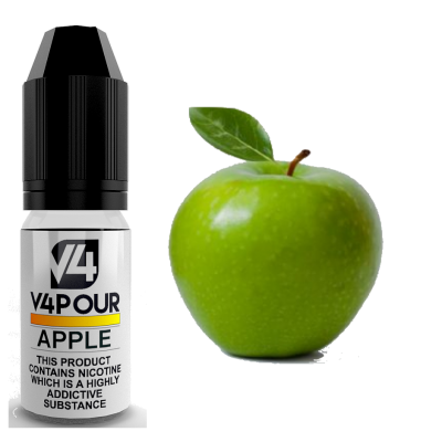 Apple E Liquid by V4 V4POUR 10ml