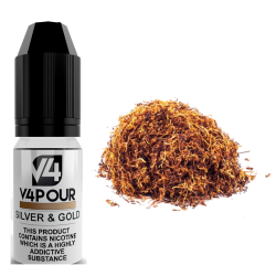Silver & Gold E-Liquid by V4 V4POUR 10ml