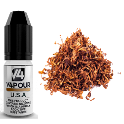 U.S.A E-Liquid by V4 V4POUR 10ml