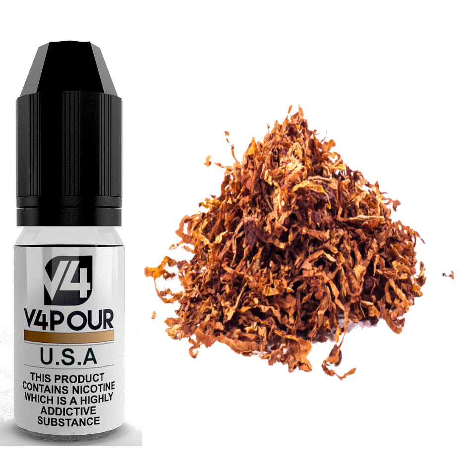 U.S.A E Liquid by V4 V4POUR 10ml