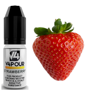 Strawberry E Liquid by V4 V4POUR 10ml